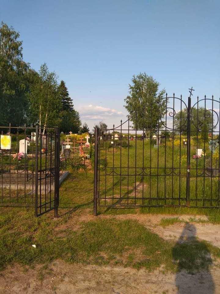 Кладбище, где похоронят Сергея Захарова. Фото: Юлиан Соболев.